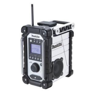 マキタ  10.8-18V  充電式ラジオ MR107W 白|douguya-dug