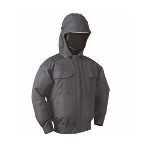 NSP オリジナル空調服(服のみ) NB-101 (チタン・フード) チャコールグレー douguya-dug