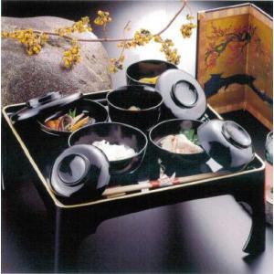 八十椀・宗和膳セット(黒塗)|douguya-net