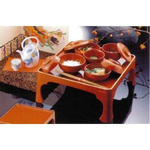 八十椀・宗和膳セット(朱塗)|douguya-net