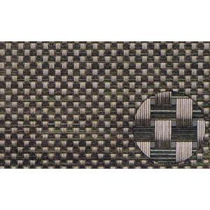 PVC製 ランチョンマット ブラウン&ダークブラウン|douguya-net