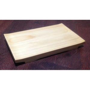 木製 白木 桧 反り 盛器  9寸 27cm|douguya-net