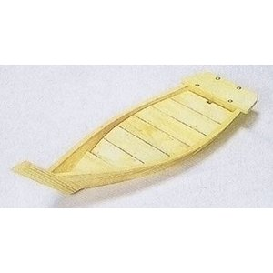 木製 白木舟 盛器 川舟 70cm  料理舟|douguya-net