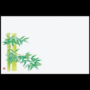 上質紙和紙マット尺3 竹 38×26cm 100枚|douguya-net