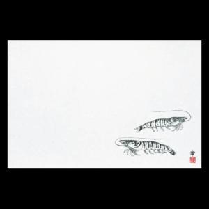 雲竜和紙マット尺3 車えび 38×26cm 100枚|douguya-net