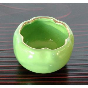 桜 豆鉢 ミニ ヒワ 緑 珍味 小付 アウトレット|douguya-net