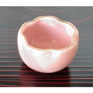桜 豆鉢 ミニ ピンク 桃 珍味 小付 アウトレット|douguya-net