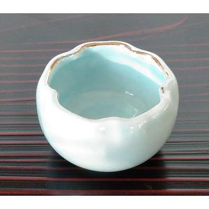 桜 豆鉢 ミニ 青磁 珍味 小付 アウトレット|douguya-net