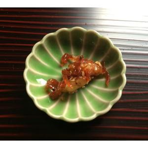 菊花 豆皿 ヒワ 緑  アウトレット 花型|douguya-net