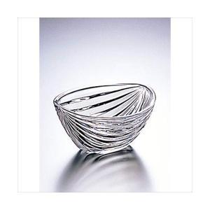 【特価】石塚硝子アデリア 水色小鉢 12.5cm|douguya-net