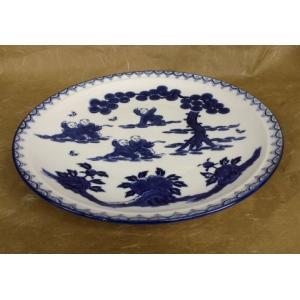有田焼 大皿 13号 鍋島唐子 尺3寸 39cm  盛皿 飾り皿 アウトレット|douguya-net