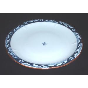有田焼 中皿 渕波絵 6寸皿 和皿|douguya-net