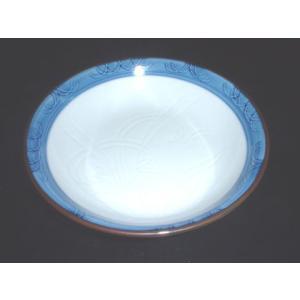 有田焼 銘々皿 ラン彫 5寸 深皿 取皿|douguya-net