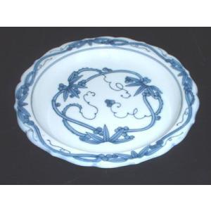 有田焼 銘々皿 りんどう 5寸皿 取皿|douguya-net