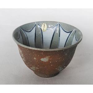 有田焼 ヘルシー丼 ご飯茶碗 特大 手造り 剣先彫焼き締め 飯碗 茶漬 douguya-net