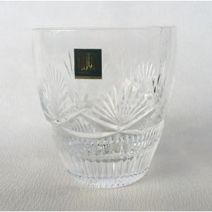 マイオンザロック 1客 オールドファッション Gカット HOYAクリスタル クリスタル ガラス グラス|douguya-net