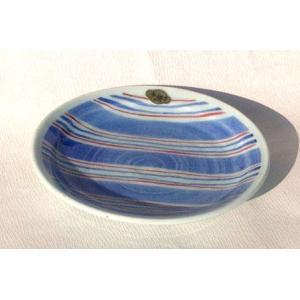 有田焼 銘々皿 色絵十草 5寸 和皿 取皿|douguya-net