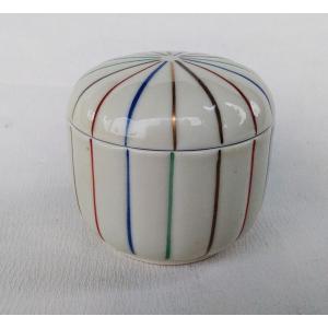 有田焼 むし碗 錦四色十草 茶碗蒸し|douguya-net