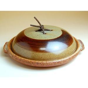 有田焼 安楽刷毛目6.5寸蓋付陶板土鍋(蒸し焼用)|douguya-net