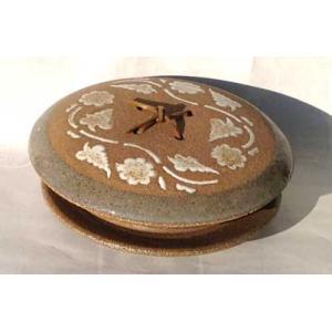 有田焼 平兵衛6.5寸蓋付唐草宝楽 台皿付(19.5cm)|douguya-net