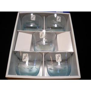 和風玻璃器あゆ切子冷茶揃5客セット|douguya-net