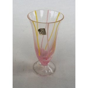 タンブラー ピンク 佐々木硝子 手造り ビヤーグラス コレクション 1客|douguya-net
