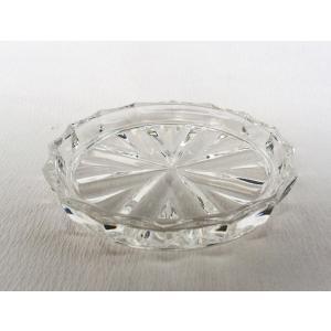 ガラスコースター ダイヤカット 小皿、薬味皿などにも douguya-net