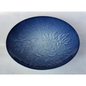 有田焼 中皿 吹牡丹 6寸皿 18cm 和皿|douguya-net