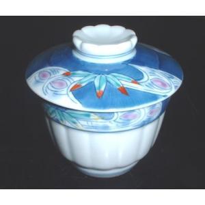 有田焼 むし碗 流水笹 茶碗蒸し|douguya-net