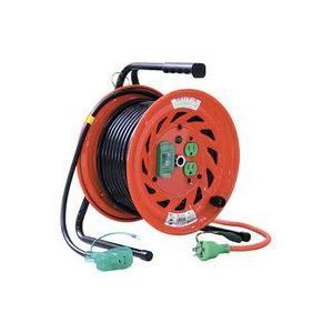 日動工業 標準型 漏電しゃ断器 100VびっくリールRND-EB30S|douguya