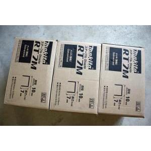 25000本×30箱 マキタ タッカーステープルRT線 10×7mm【タッカST110D専用】|douguya