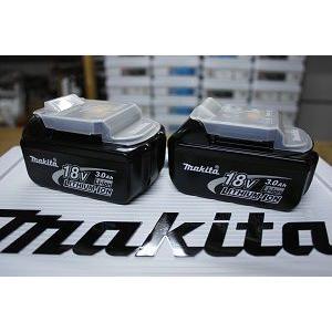 国内正規流通品 makita セットばらし品の2ケ組 過充電防止保護回路搭載  18.0V マキタ リチウムイオンバッテリー (電池) BL1830 TD149DRFX用ケ−ス付