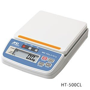 直送品 Aamp;D エー アンド コンパレータライト付きデジタルはかり HT500CL-JA 贈答 デイ HT-500CL 完売