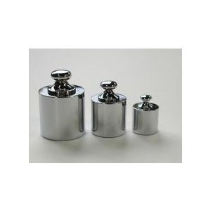 最安値挑戦 直送品 分銅 円筒型分銅 基準分銅型 黄銅クロムメッキ M1CBB-100G-JCSS 送料別 売り出し