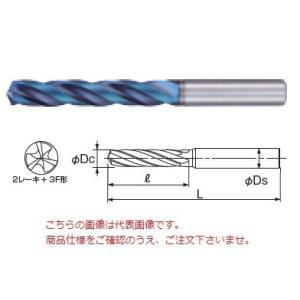 不二越 ナチ 超硬ドリル 豊富な品 AQDEX3FR0820 日本未発売 EX アクアドリル 3フルートレギュラ