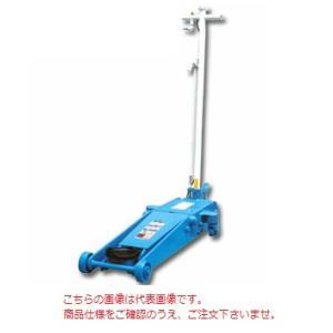 【送料無料】【代引不可】 長崎ジャッキ 静音低床エアーガレージジャッキ ミドルタイプ NLA-2P-S 《静音型・ペダル付き》