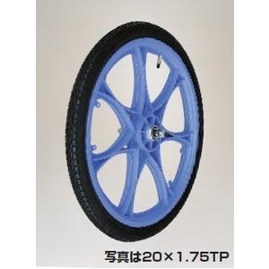 直送品 ハラックス タイヤ エアー入りタイヤ スポークホイール《タイヤセット》 格安激安 送料別 TR-20X1.75T 人気商品