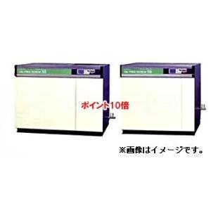 【ポイント10倍】 【代引不可】 日立 コンプレッサー DSP-75WR6N-9K オイルフリースクリュー圧縮機 【直送品】