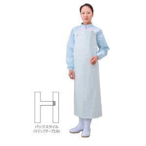 【ポイント5倍】 エブノ らくらくエプロン(胸付前掛) フリーサイズ ホワイト (30枚)|douguyasan