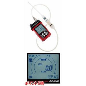 【ポイント5倍】 理研計器 (RIKEN KEIKI) ポータブル可燃性ガスモニター GP-1000