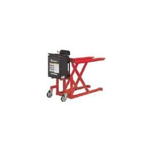 【ポイント5倍】 【直送品】 スギヤス ビシャモン 昇降式スクーパー LV-50E (バッテリー昇降...