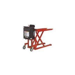 【ポイント5倍】 【直送品】 スギヤス ビシャモン 昇降式スクーパー LV-50WE (バッテリー昇...