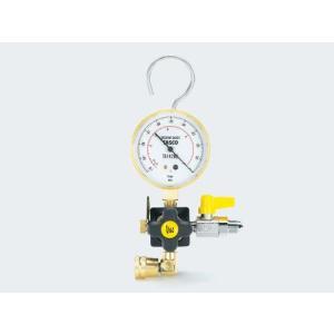 【ポイント5倍】 TASCO (タスコ) ウルトラミニ真空ポンプ用真空ゲージキット(5/16接続) TA142VK-3|douguyasan