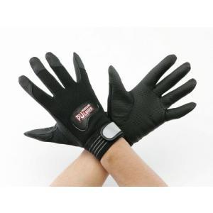 【ポイント5倍】 TASCO (タスコ) 作業手袋(ブラック)M TA967DZ-1|douguyasan