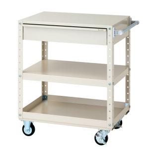 【ポイント5倍】 【代引不可】 山金工業 ヤマテック ワゴン W7CS-M-IV 【メーカー直送品】