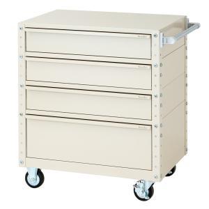 【ポイント5倍】 【送料無料】【代引不可】 山金工業 ヤマテック ワゴン W7CU-M3D-IV