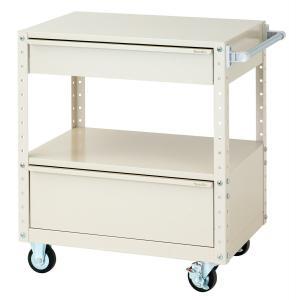 【ポイント5倍】 【代引不可】 山金工業 ヤマテック ワゴン W7CU-MBD-IV 【メーカー直送品】