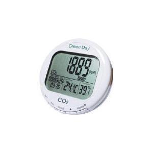 (株)カスタム カスタム CO2モニター CO2-M1 (365-1738) 《ガス測定器・検知器》