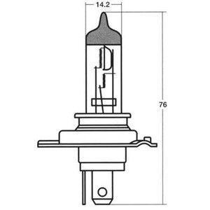 ハロゲン(二輪車用) 12V35/35W(HS1) スタンレー電気 14-0053 doujimabuhin