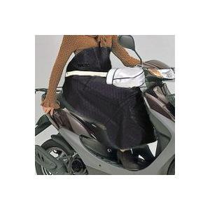MARUTO マルト スクーター ひざ当て フリーサイズ 黒 LC-F3300|doujimabuhin